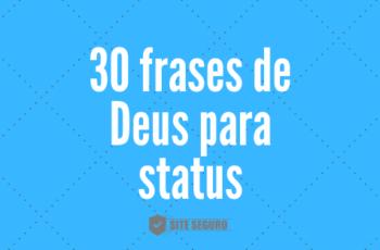 Frases de Deus Tumblr (30 frases)
