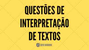 exercícios de interpretação de textos com gabarito comentado.