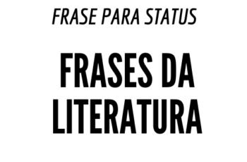 10 frases especiais sobre Literatura